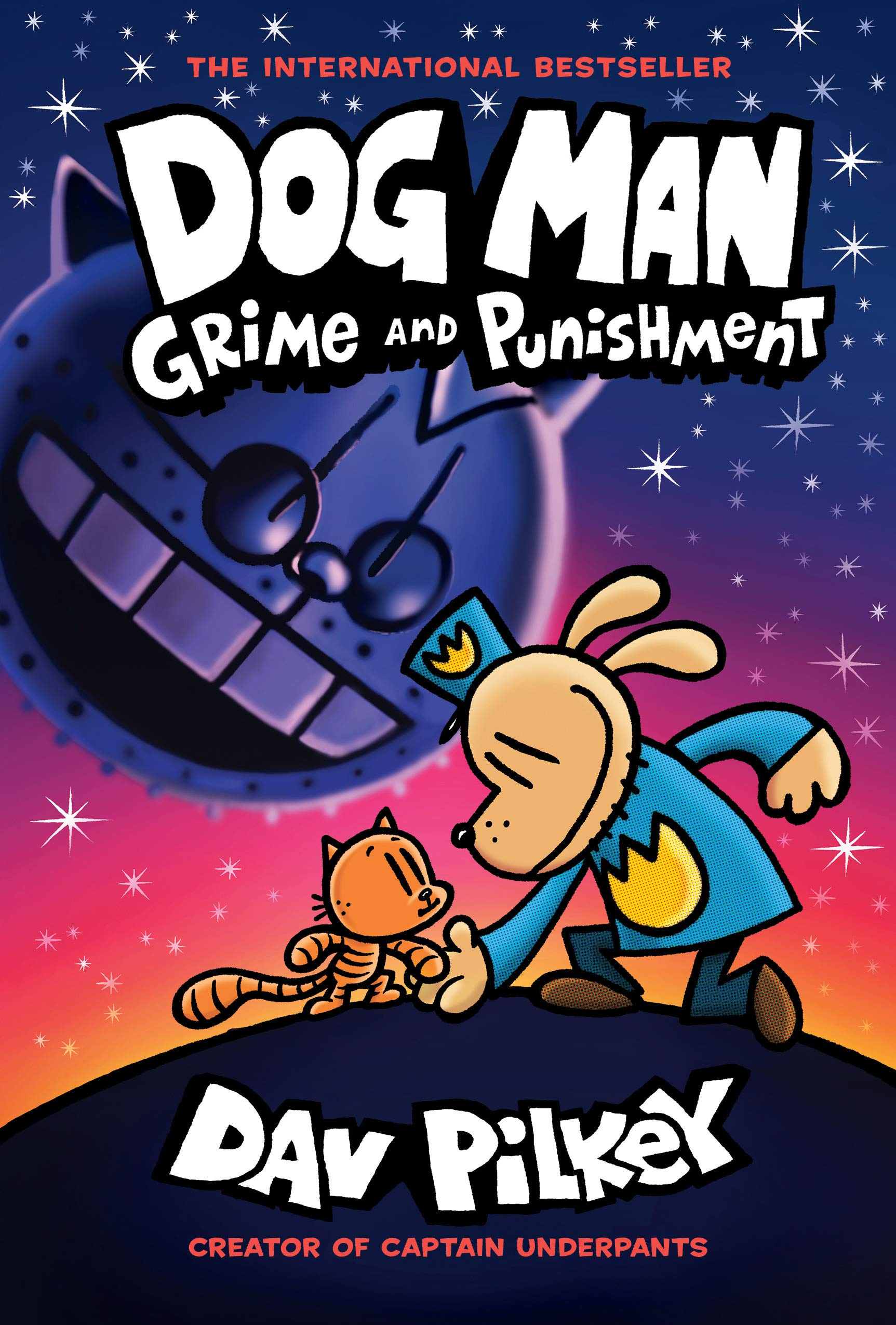 Cover image of Dog Man: Grime and Punishment by Dav Pilkey