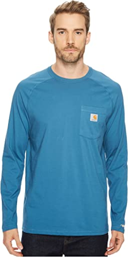 Carhartt - Force® Cotton Delmont Long-Sleeve T-Shirt