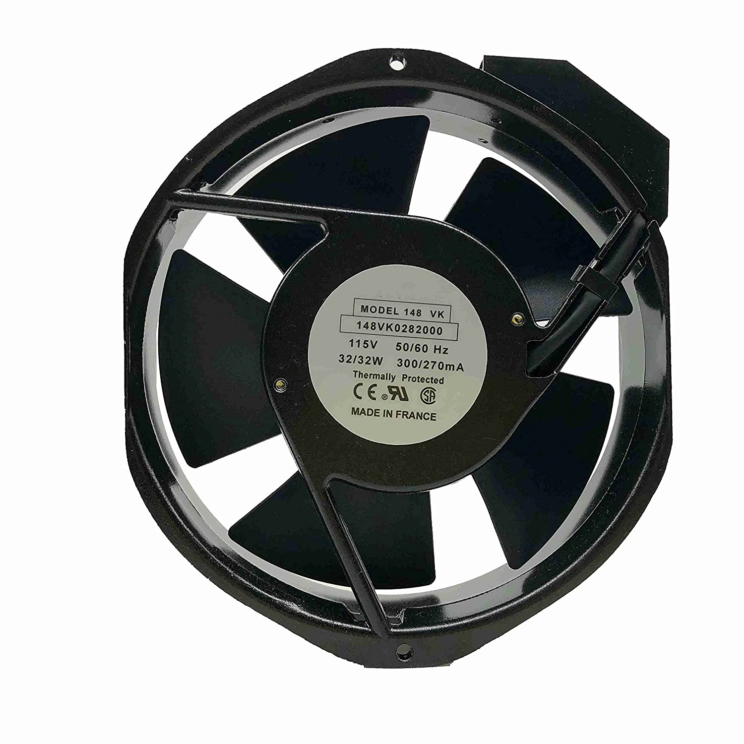 for Etri 148VK0282000 Axial Flow Ranking TOP6 6 Months Fan 115V 172x150x38mm Outstanding