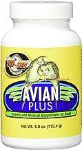 Zoo Med Laboratories Bzma374 Avian Plus Bird Vitamins, 4 oz