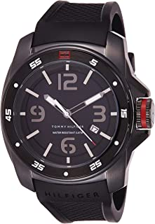 Tommy Hilfiger Windsurf Mens Quartz Watch, Analog Display and Stainless Steel Strap 1790708
