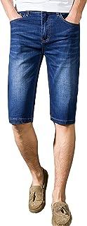(ケイミ)KEIMI メンズパンツ 夏 短パン 五分丈 スーパーストレッチ ジーンズ ジーパン ハーフパンツ ショートパンツ デニム 大きいサイズ