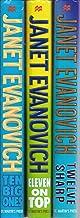 Janet Evanovich Stephanie Plum Series 10-12 (Ten Big Ones, Eleven on Top, Twelve Sharp)