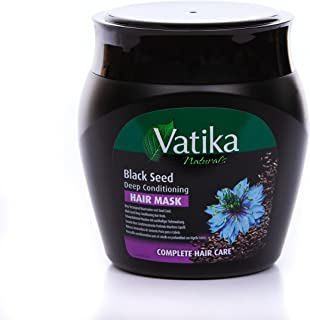 Dabur Vatika Naturals Black Seed Deep Conditioning Hair Mask, 500 Gram