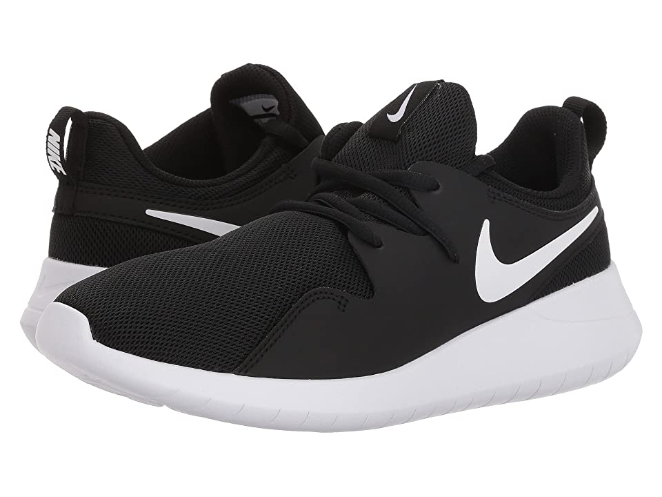 Nike Kids Tessen (Big Kid) (Black/White/White) Boys Shoes