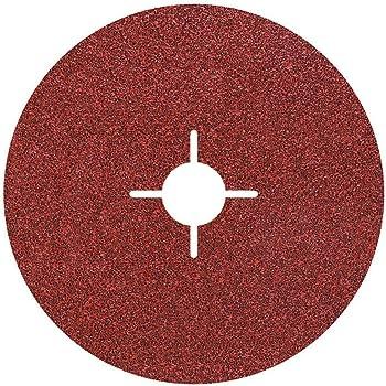 Bosch Professional 2608619167 Disques Abrasifs sur Fibres  Expert for Metal pour les M/étaux, X-LOCK, R444, /Ø/115/mm, Grain 60, Al/ésage/: 22,23/mm