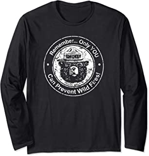 Smokey Bear Only You can Prevent etc - Seal Long Sleeve