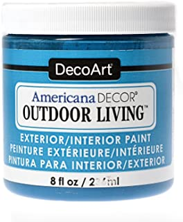 DecoArt Americana Decor Outdoor Living Paint fountain 8 oz. [PACK OF 3 ]
