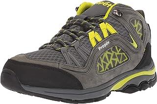Propet Women's Peak Hiking Boot, Dark Grey/Lime