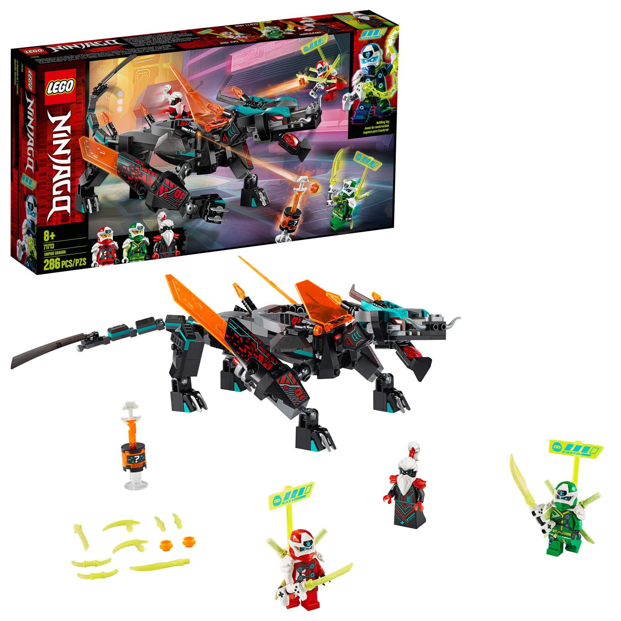 71710 LEGO Ninjago Prime Empires Digi Kai w// Katanas /& Gaming Controller Sword