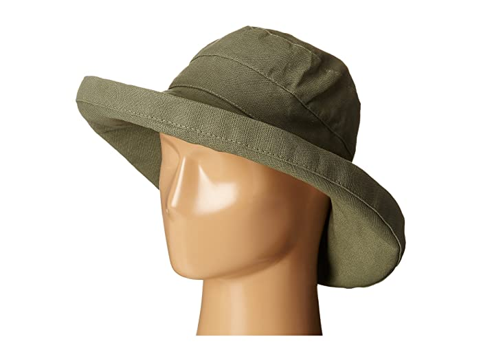 d76e263f SCALA Cotton Big Brim Sun Hat with Inner Drawstring at Zappos.com