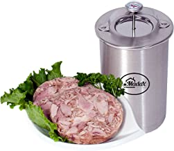 Ham Maker – Stainless Steel Meat Press for Making Healthy Homemade Deli Meat with..