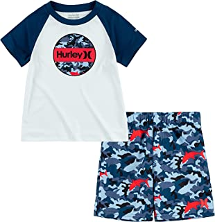 Hurley Baby Boys' Swim Suit 2-Piece Outfit Set