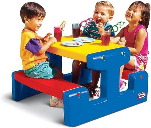 todos los bienes son especiales Little tikes 479500070  - - - Mesa de Picnic Pequeña de plástico de Colors  suministro directo de los fabricantes