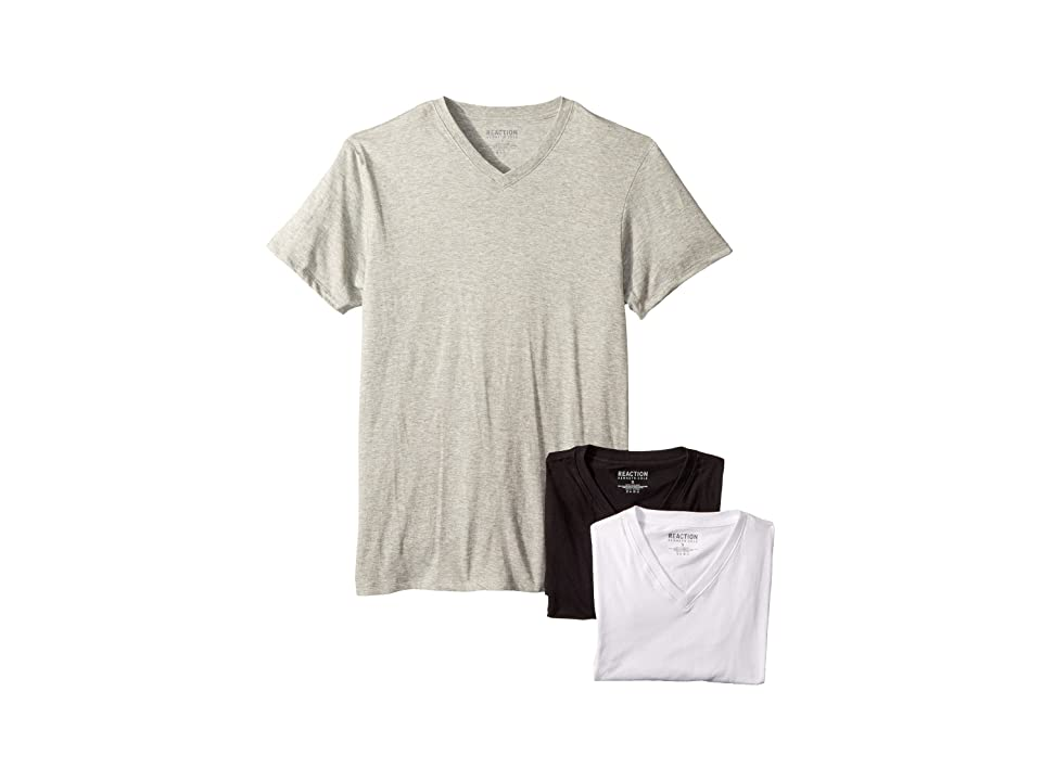 Kenneth Cole Reaction - Kenneth Cole Reaction 3-Pack Classic Fit V-Neck Tee