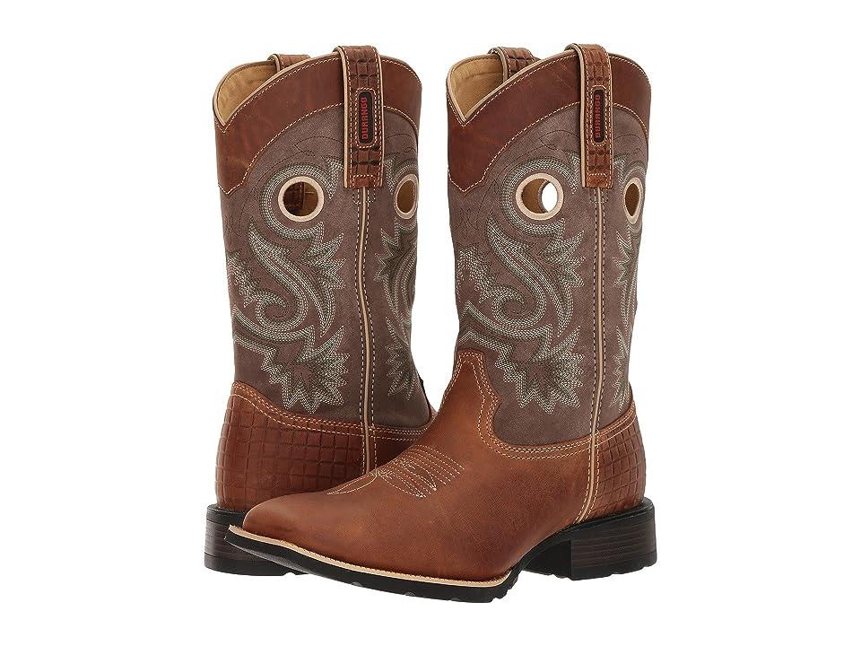 Durango Mustang 12 Western (Brown/Dark Brown) Cowboy Boots