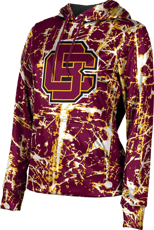 ProSphere Bethune-Cookman University Girls' Pullover Hoodie, School Spirit Sweatshirt (Distressed)