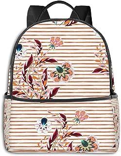 Mochilas Escolares Bolsa Daypack Mochila Tipo Casual para Niños Niñas para Portátiles Netbooks Tira de Flores de fantasía Floral