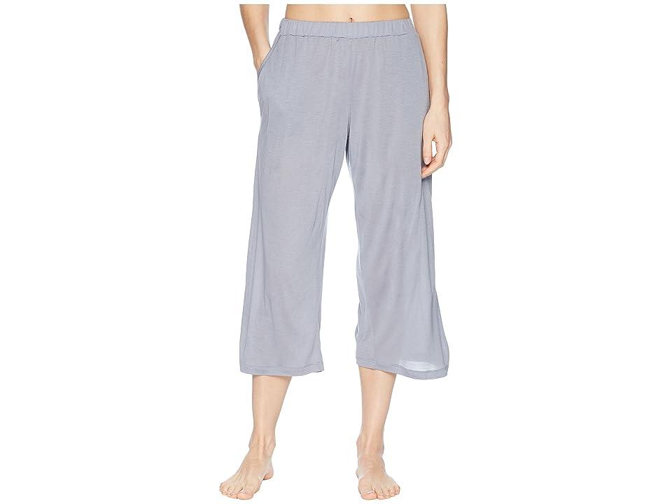 Hanro Malva Crop Pants (Lilac Grey) Women