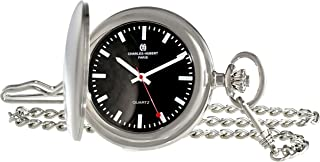 Charles-Hubert, Paris 3952-B Classic Collection Analog Display Japanese Quartz Pocket Watch