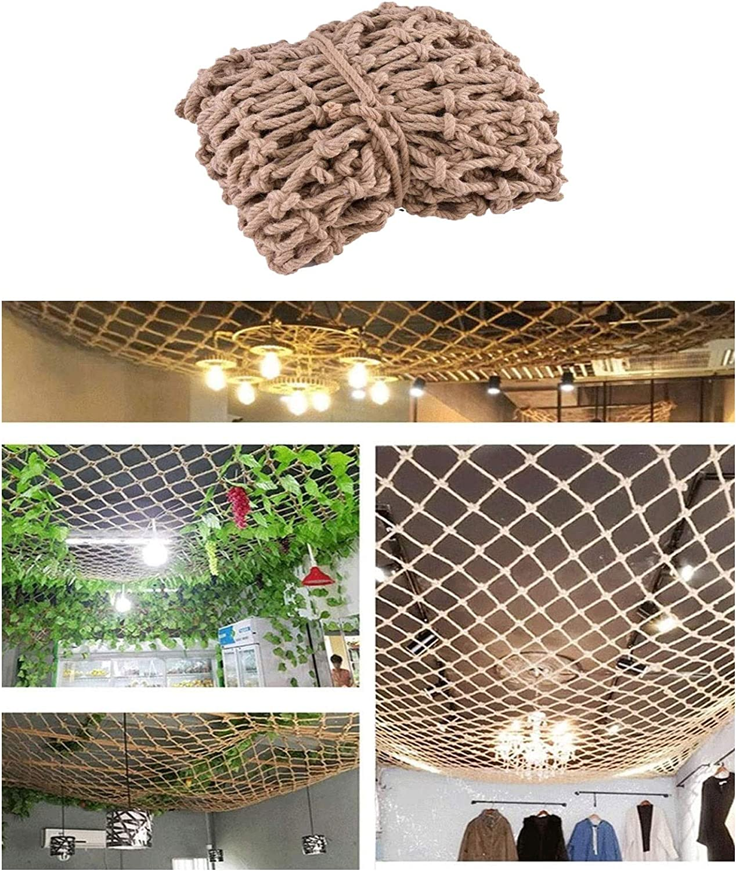 Hynet Rope Net for Kids Max 55% OFF Hemp Safety Daily bargain sale Playground Bir