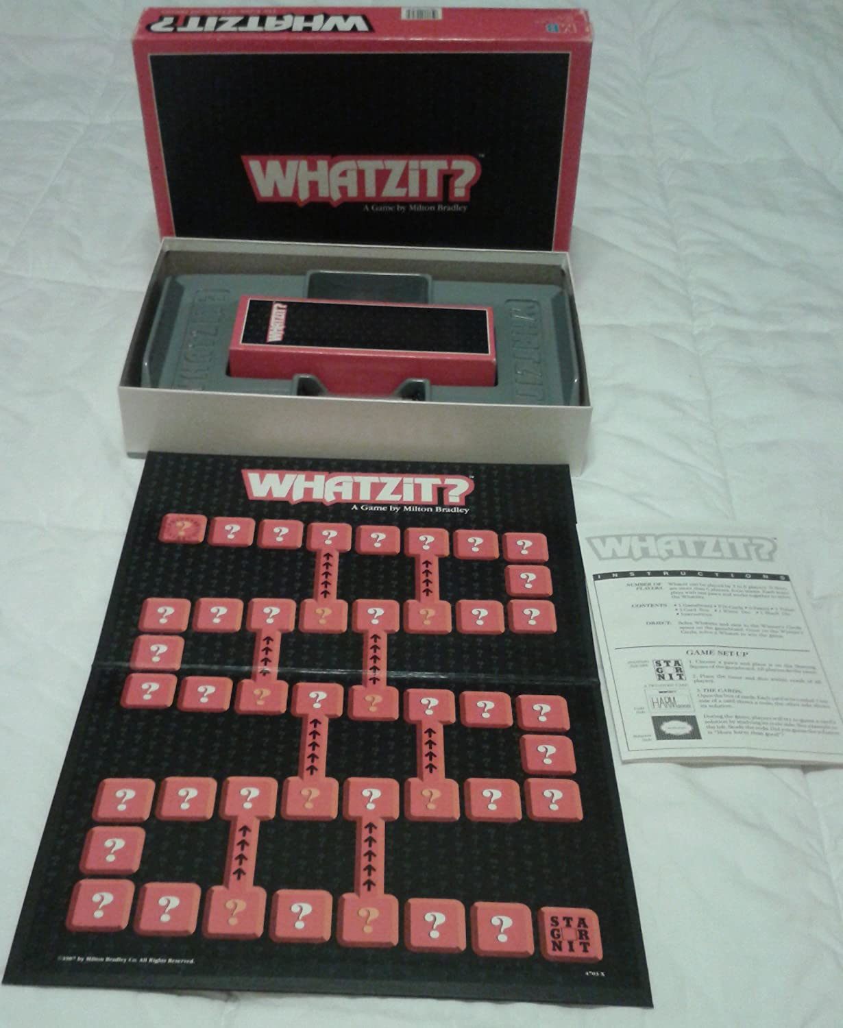 Whatzit Board Game of Fractured Phrases