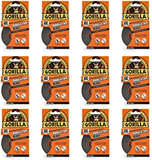 Gorilla Tape Handy Roll Zwart 25mm x 9m (Pack van 12)