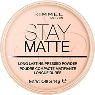 Rimmel London Stay Matte Long Lasting Pressed Powder - 002 Pink Blossom