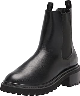 The Drop Women's Saviah Chunky Sole Pull-On Chelsea Boot