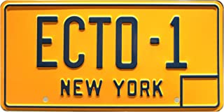Ghostbusters | ECTO-1 | Metal Stamped License Plate