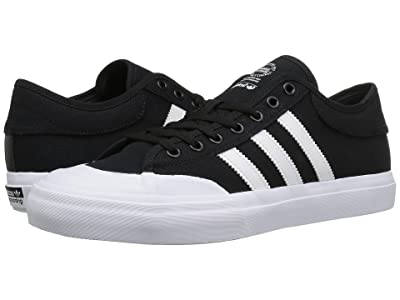 adidas Skateboarding Matchcourt (Black/White/Black) Skate Shoes