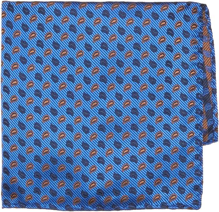 BUCKLE 1922 Men's Paisley Pattern Pocket Square