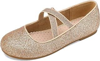DREAM PAIRS کفش های لباس بالرین دخترانه Mary Jane Flats