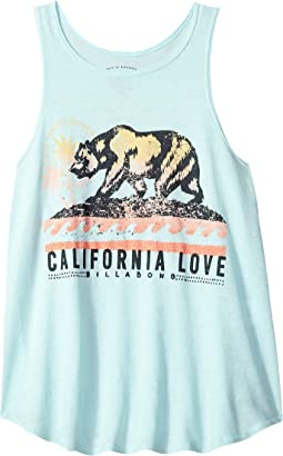 Love Cali Bear Tank Top (Little Kids/Big Kids)