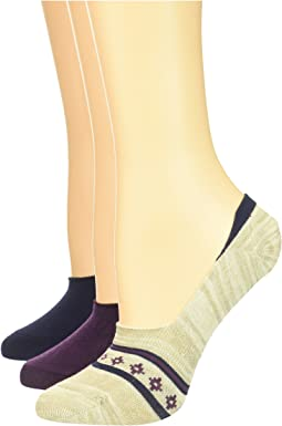 3-Pack Marled/Nordic Boot Footie