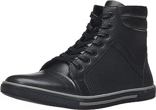 black high top dress sneakers