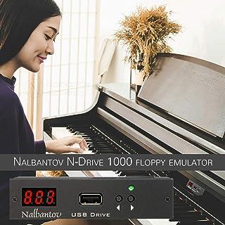 Nalbantov N-Drive 1000 un emulador de disquetera USB para Yamaha QY300, PSR SQ16, PSR 600