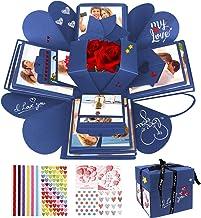 Emooqi DIY Explosion Box, Creative DIY Handmade Surprise Explosion Gift Box Love Memory, Scrapbooking Photo Album Gift Box...