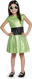 Buttercup Classic Powerpuff Girls Cartoon Network Costume, Medium/7-8
