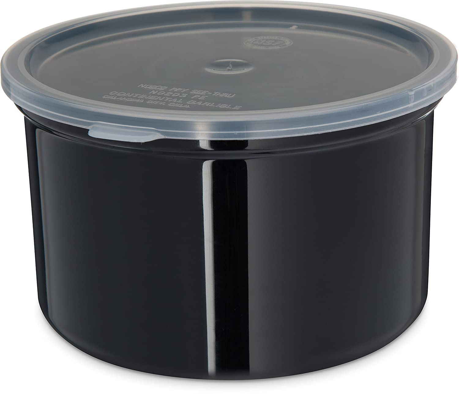 Carlisle 031603 Solid Color Commercial Container w Storage Round Challenge the lowest price Great interest of Japan ☆