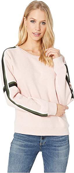 Backtrack Sport Stripe Fleece Sweatshirt