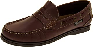 Helmsman 72015 Cuir Mocassin Chaussures Bateau Hommes