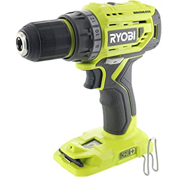 Ryobi P252 18V Lithium Ion Battery Powered Brushless 1,800 RPM 1/2 Inch Drill Driver w/ MagTray and Adjustable Clutch (Battery Not Included / Power Tool Only)