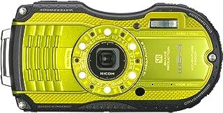 RICOH 防水デジタルカメラ RICOH WG-4 ライムイエロー 防水14m耐ショック2.0m耐寒-10度 RICOH WG-4LY 08588