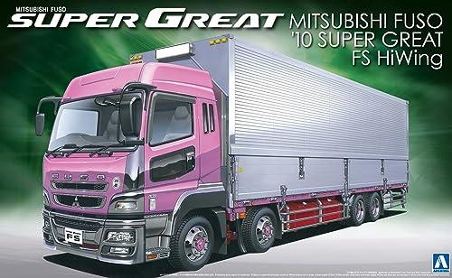 1 32 Schwere G rzug-'10 Series No.14 Mitsubishi Fuso Super Great FS Hochdecker