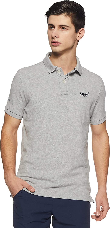 Superdry Herren Classic Pique S//S Polo Poloshirt