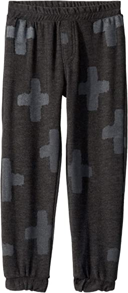 Extra Soft Plus Sign Pants (Toddler/Little Kids)