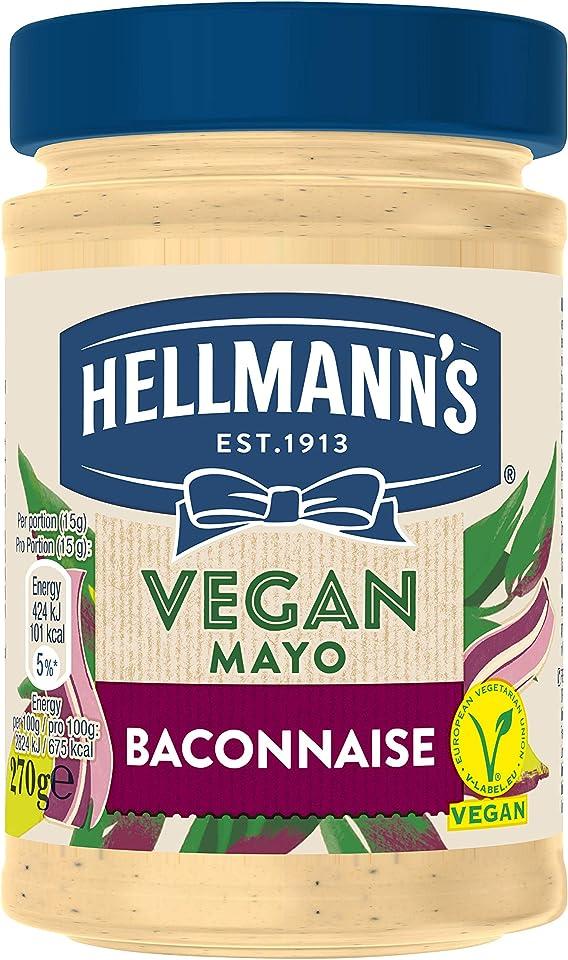 Hellmann's Vegan Baconnaise Mayo, 270g