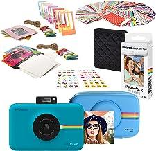 Polaroid Snap Touch Instant Digital Camera (Blue) Starter Kit with Eva Case