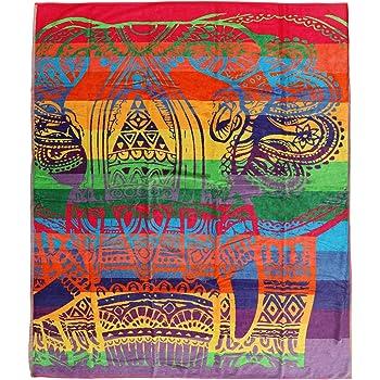 Secaneta - Toalla de Playa Doble de 175x150 cm Algodón Egipcio 100 ...